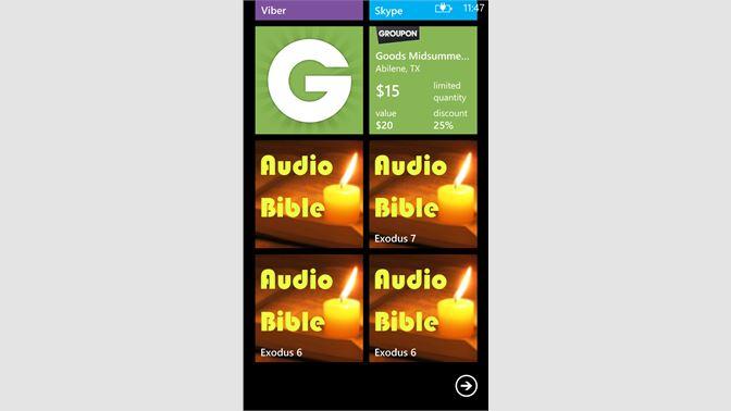 Get Audio Bible - Microsoft Store