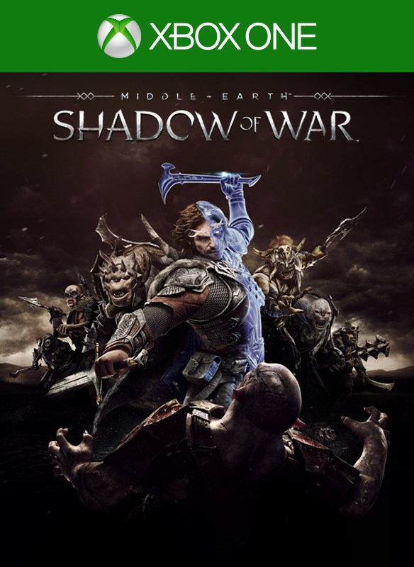 Imagem da caixa do Shadow of War