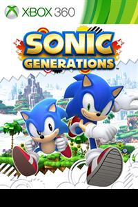 Carátula para el juego Sonic Generations de Xbox 360