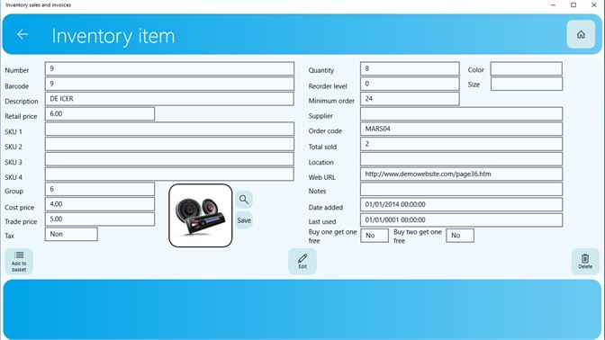 Get Inventory sales and invoices - Microsoft Store
