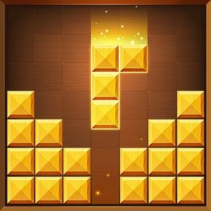 方块拼图 - 木头七巧板