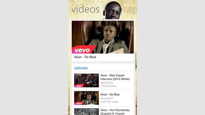Get Akon Music - Microsoft Store