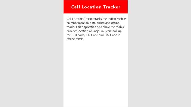 Get Track Caller Location Offline - Microsoft Store