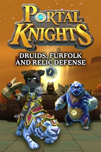 Carátula del juego Portal Knights - Druids, Furfolk, and Relic Defense