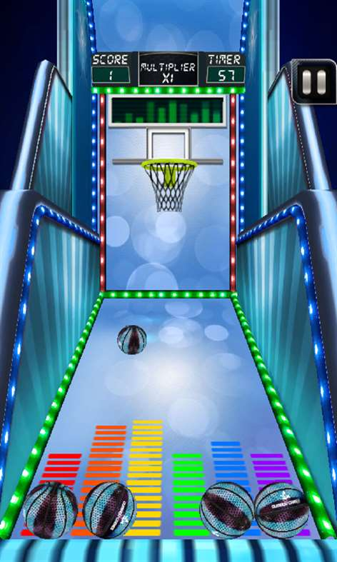 Basket Ball 3D Free Screenshots 1