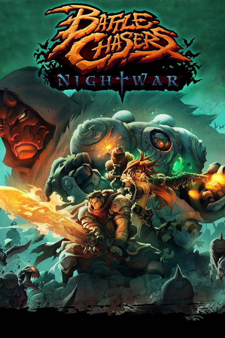 Battle Chasers: Nightwar – Verpackung