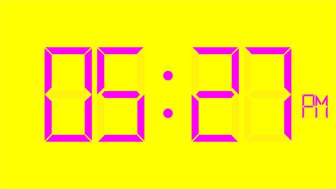 Get Digital Wall Clock - Microsoft Store