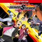 NARUTO TO BORUTO: SHINOBI STRIKER Deluxe Edition Logo
