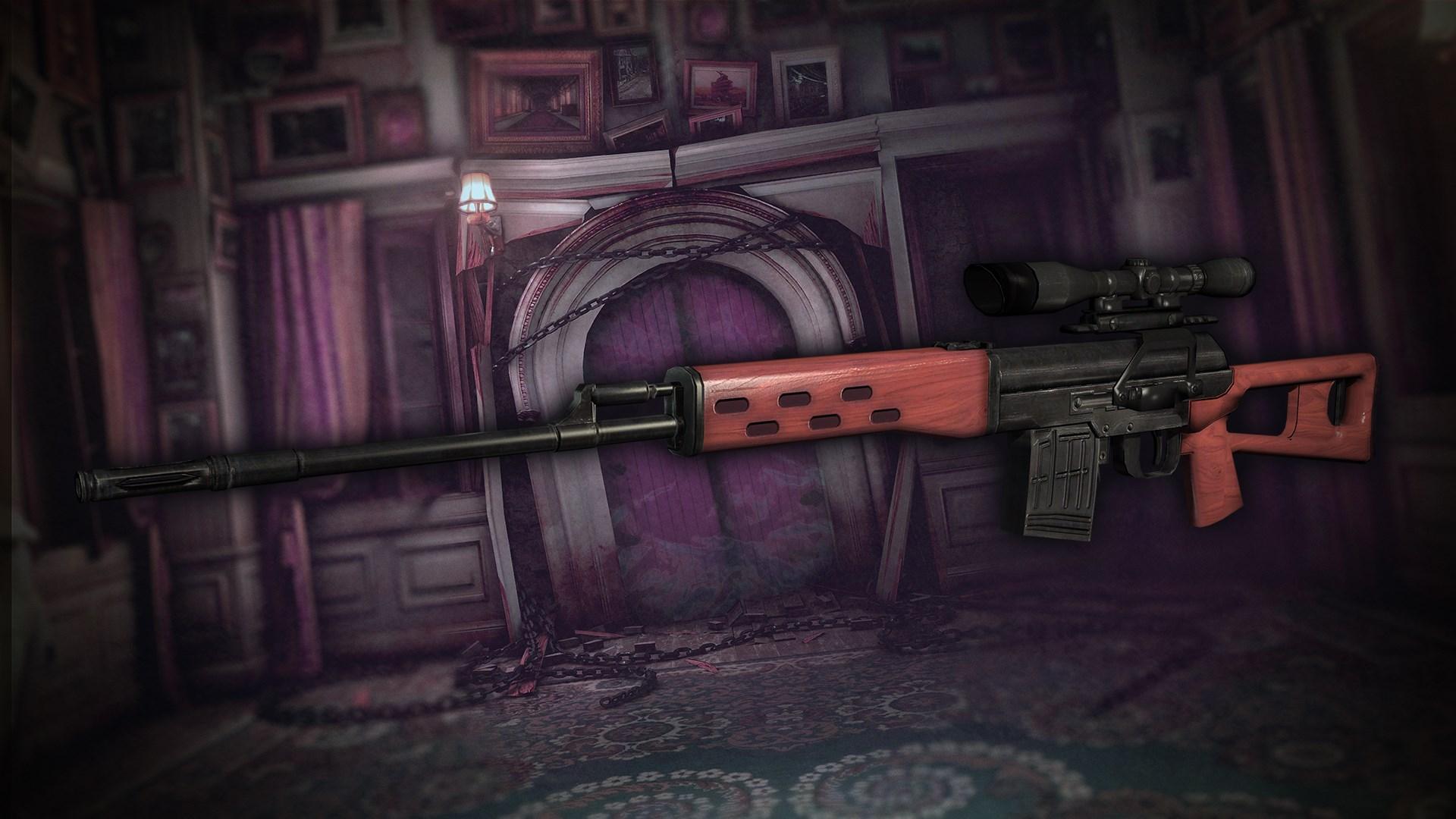 Raid Mode: Sniper Rifle SVD & Parts