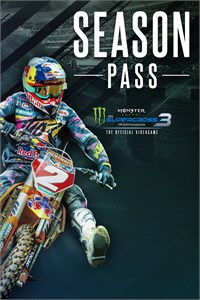 Carátula para el juego Monster Energy Supercross 3 - Season Pass de Xbox 360