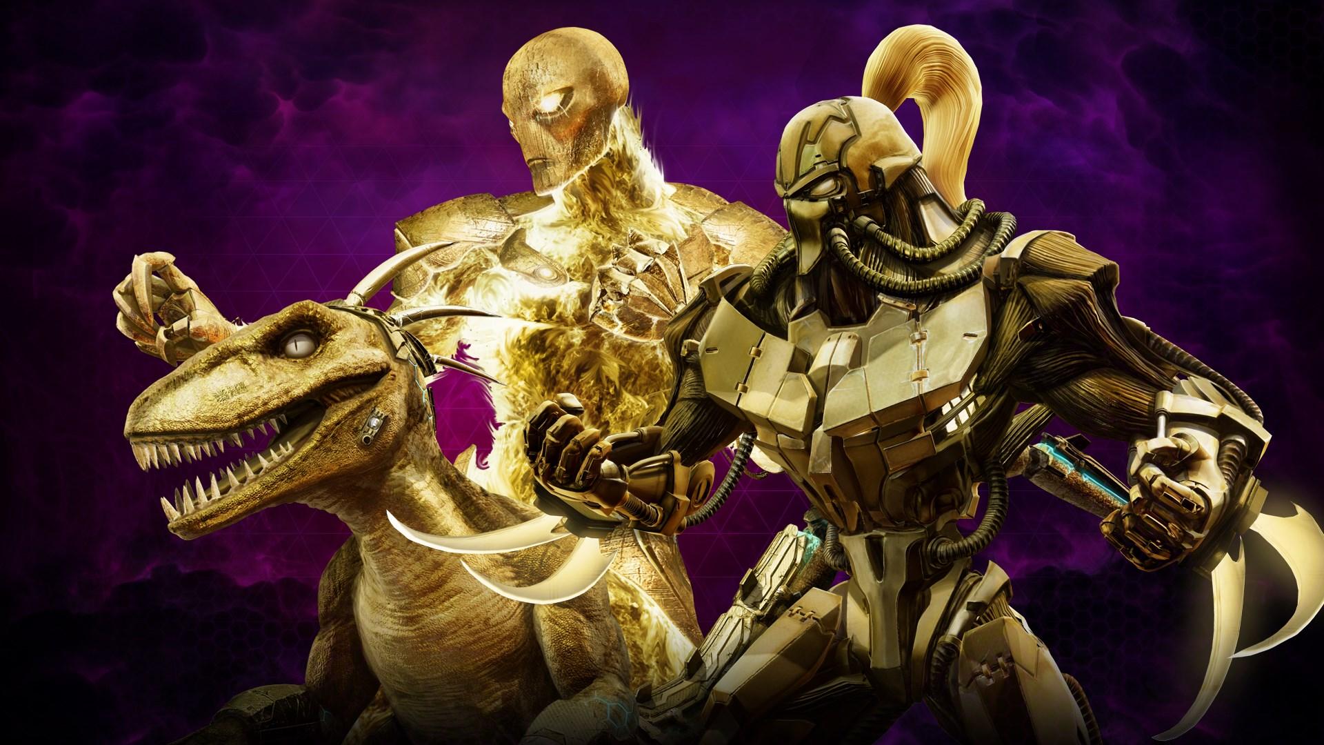 Gold Skin Pack 5