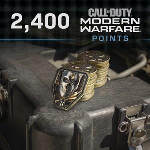 2,400 Call of Duty®: Modern Warfare® Points Xbox One