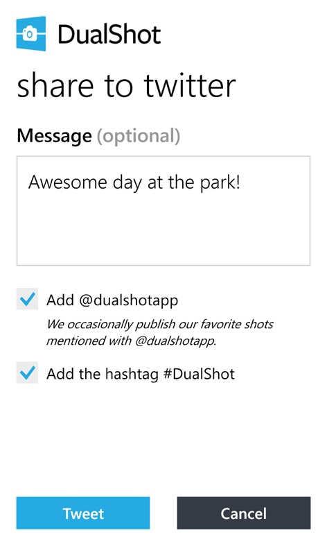 DualShot Screenshot