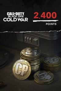 2,400 Call of Duty®: Black Ops Cold War Points