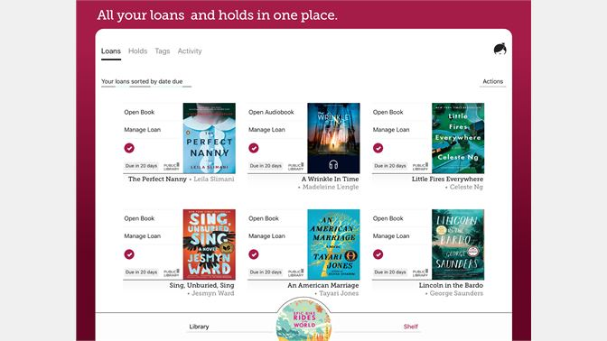 Get libby by overdrive microsoft store en ca screenshot all your loans and holds in one place fandeluxe Gallery