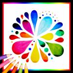 Coloring Book for Mandala - Adults Coloring Book