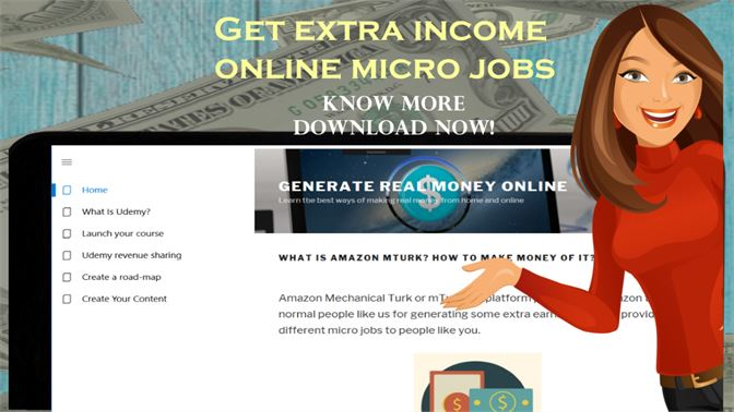 Get GET PAID FOR MICRO JOBS GUIDE - HOME BASE SIDE JOBS WITH