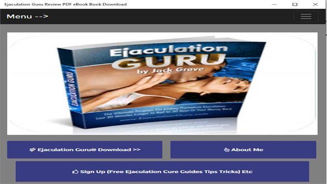 придбати Ejaculation Guru Review Pdf Ebook Book Download