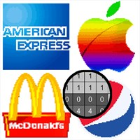 Get American Logo Color By Number Pixel Art Coloring Book