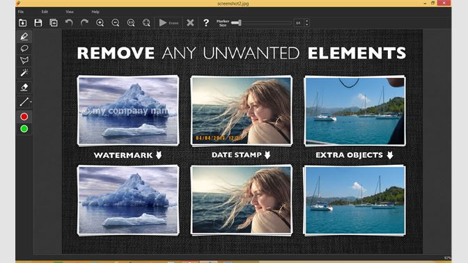 Remove Any Unwanted Elements