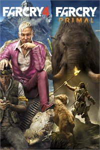 BUNDLE FAR CRY 4 + FAR CRY PRIMAL