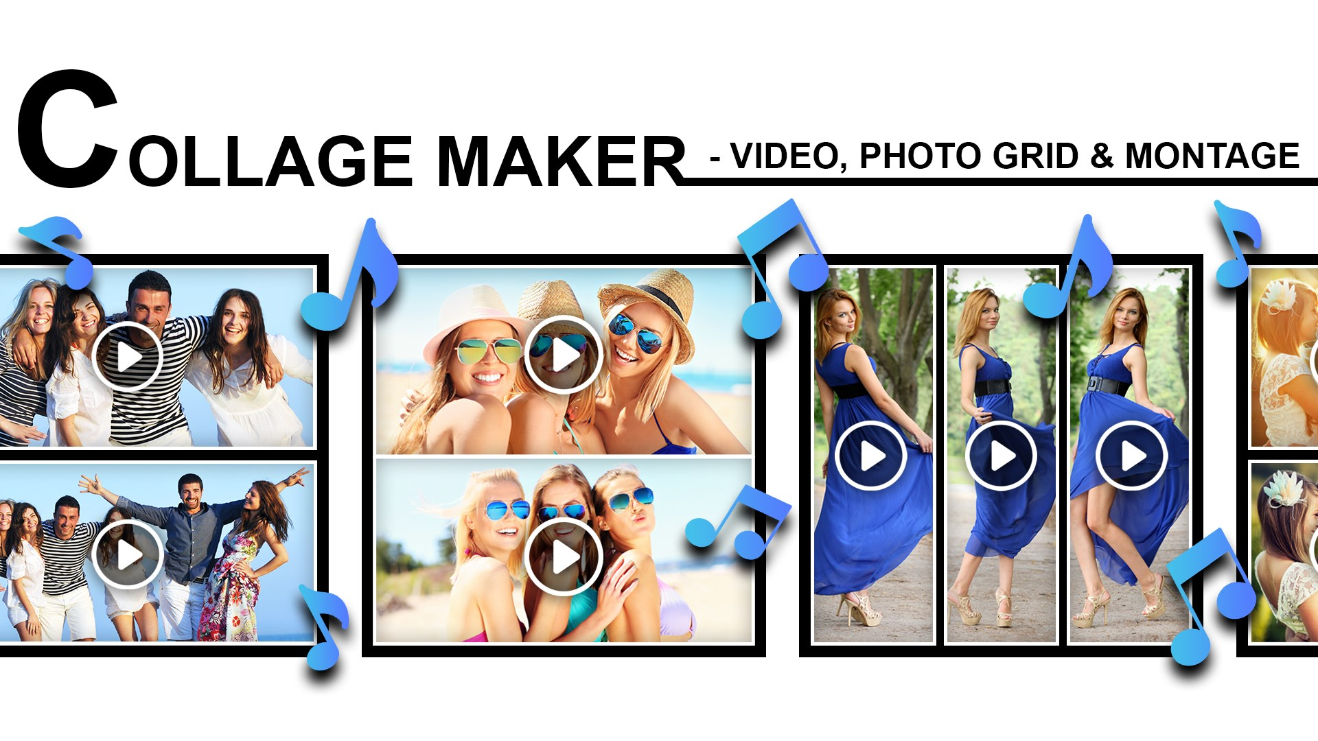 Get Collage Maker Video Photo Grid Montage Microsoft Store