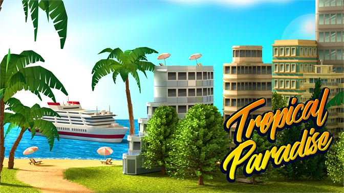 Get Tropical Paradise: Town Island - Microsoft Store