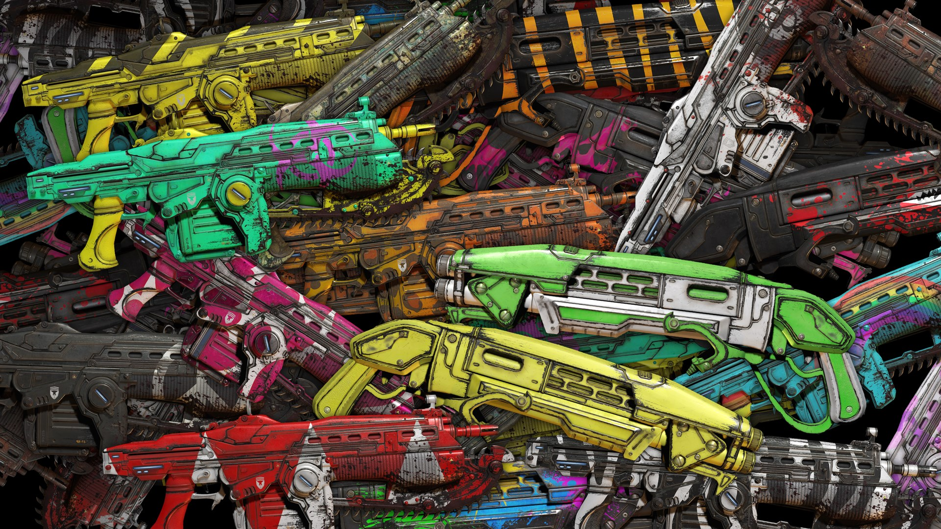 Deluxe Weapon Skin Pack