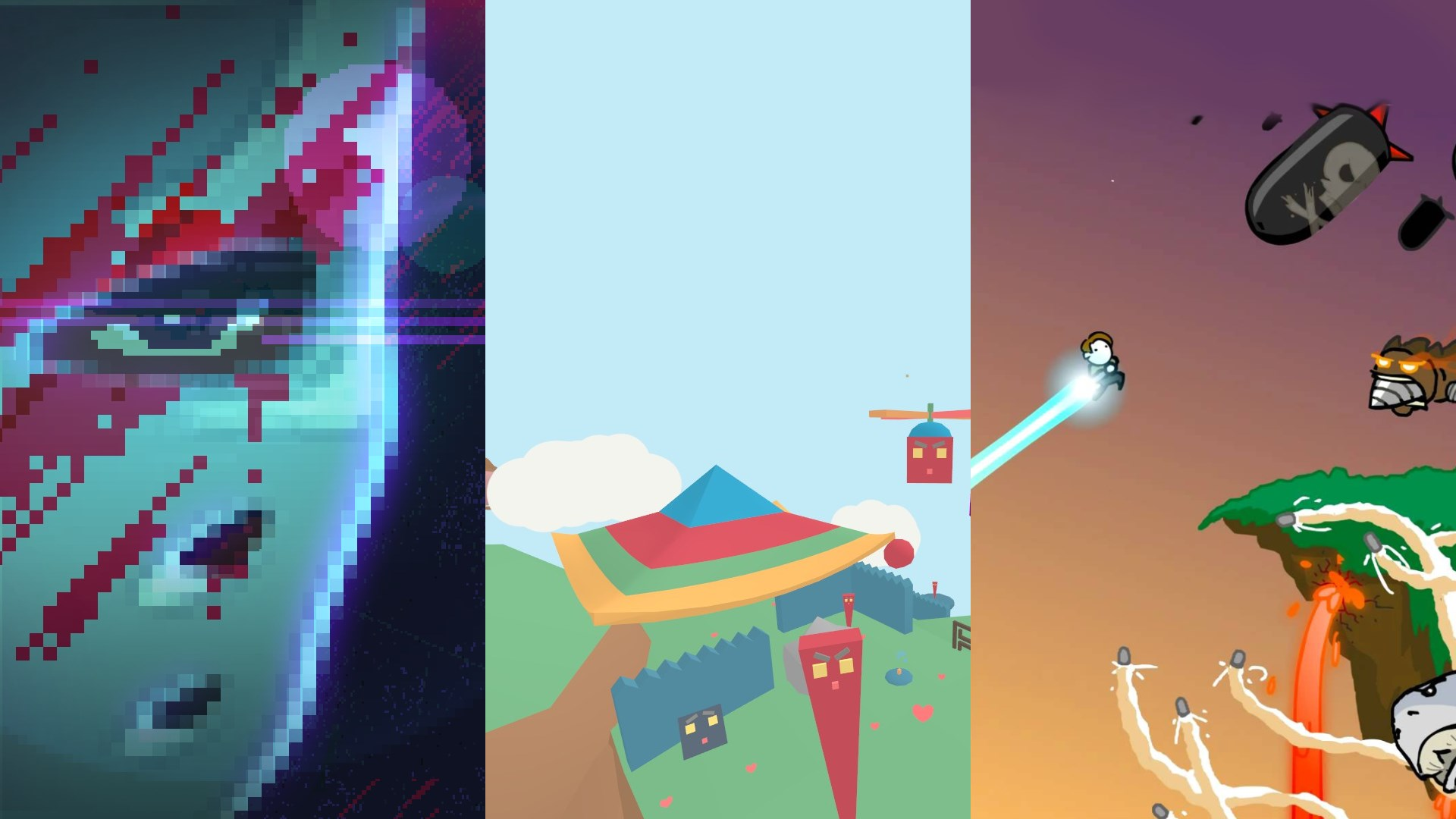 tinyBuild Bundle: PartyHard + Lovely Planet + No Time To Explain