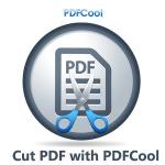 Cut PDF - Split PDF, Compress PDF Files with PDFCool Logo