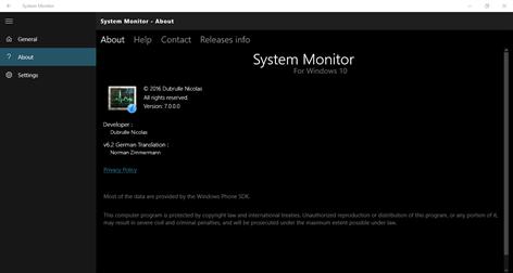 System Monitor Captures d'écran 2