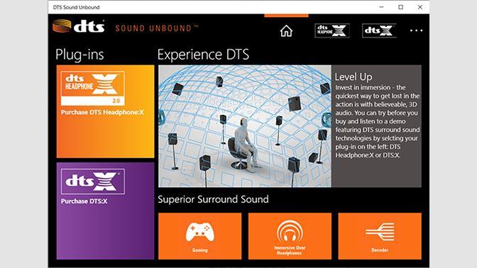 รับ DTS Sound Unbound - Microsoft Store th-TH