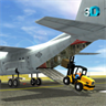 Cargo Plane City Airport - Truck Forklift Flight