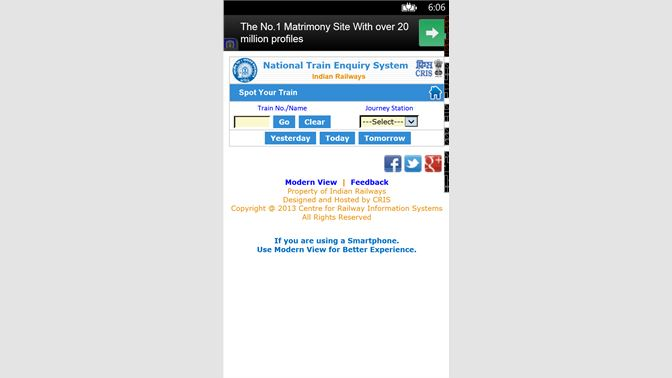 Get IRCTC Live Train Status - Microsoft Store
