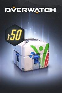 Carátula del juego Overwatch - 50 Summer Games Loot Boxes
