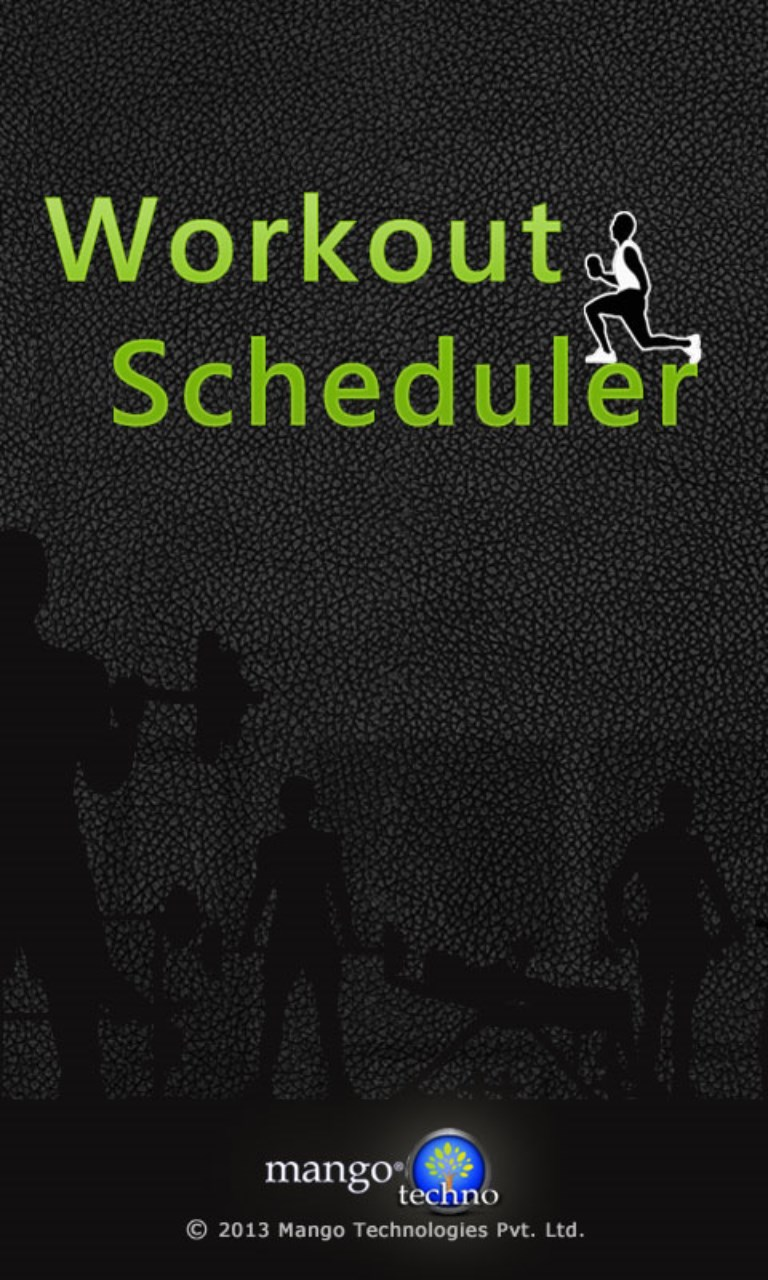 Workout Scheduler