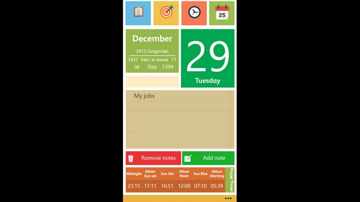 Developer Submission: Gregorian and Persian calendar app for