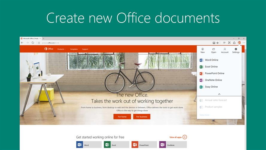 Office Online Screenshot