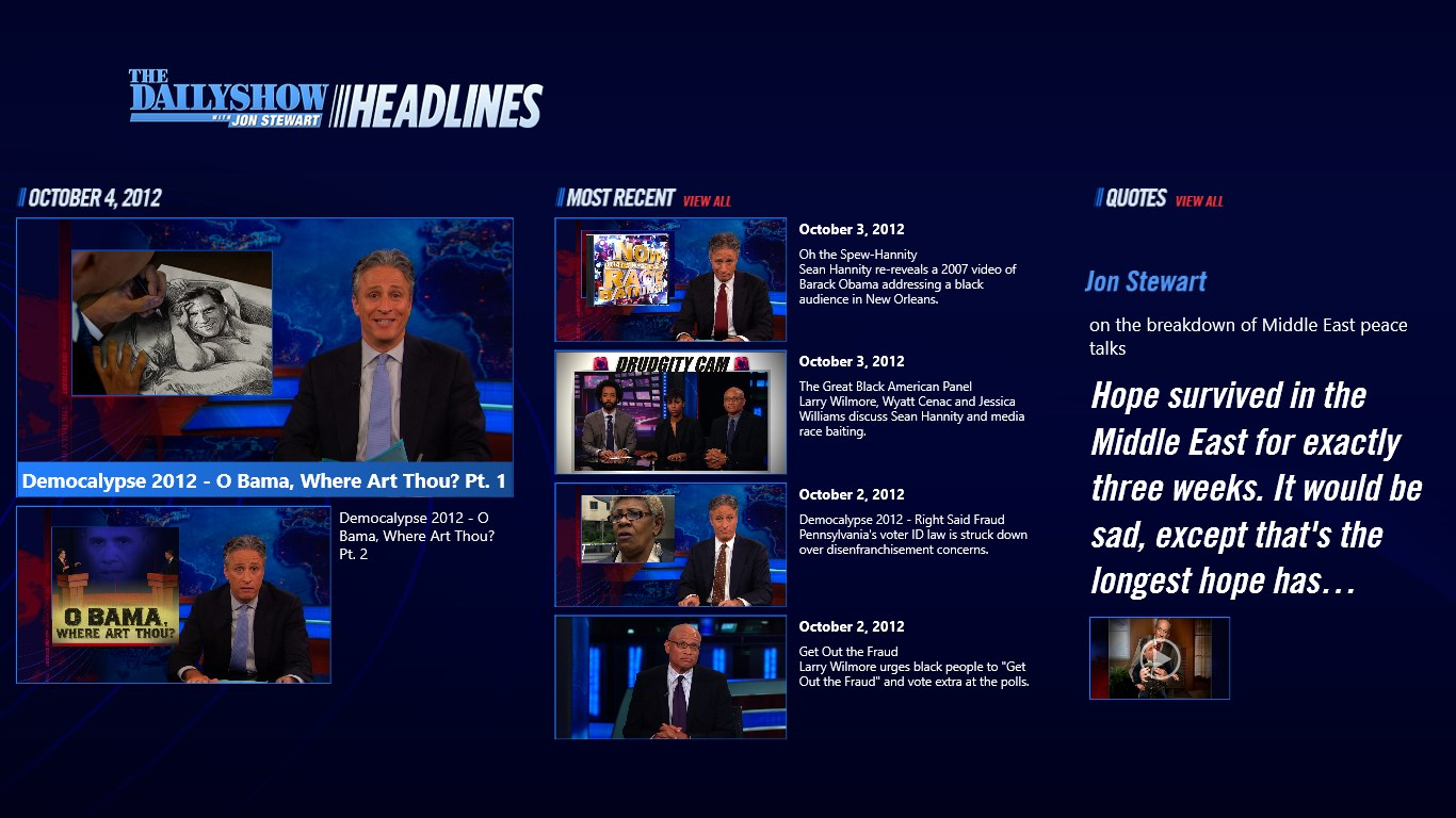 Buy The Daily Show Headlines - Microsoft Store