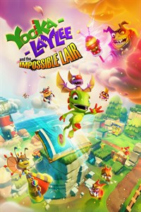 Carátula del juego Yooka-Laylee and the Impossible Lair