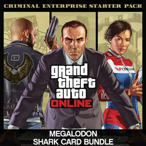 Criminal Enterprise Starter Pack and Megalodon Shark Card Bundle Xbox One