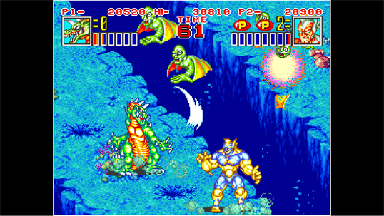 ACA NEOGEO KING OF THE MONSTERS 2 screenshot 3