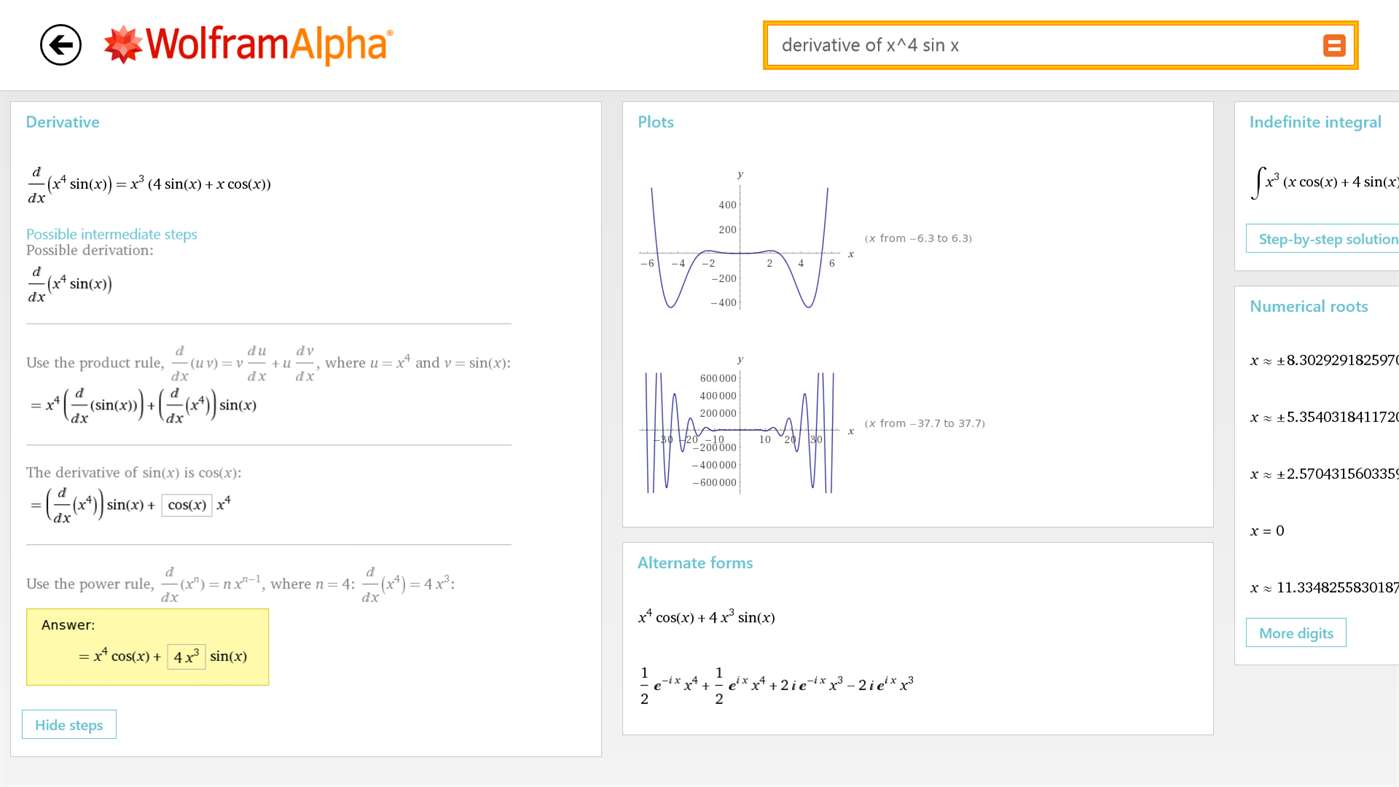 Official Wolfram Alpha app free for a limited time, save $2 99