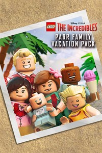 Parr Family Vacation Character Pack