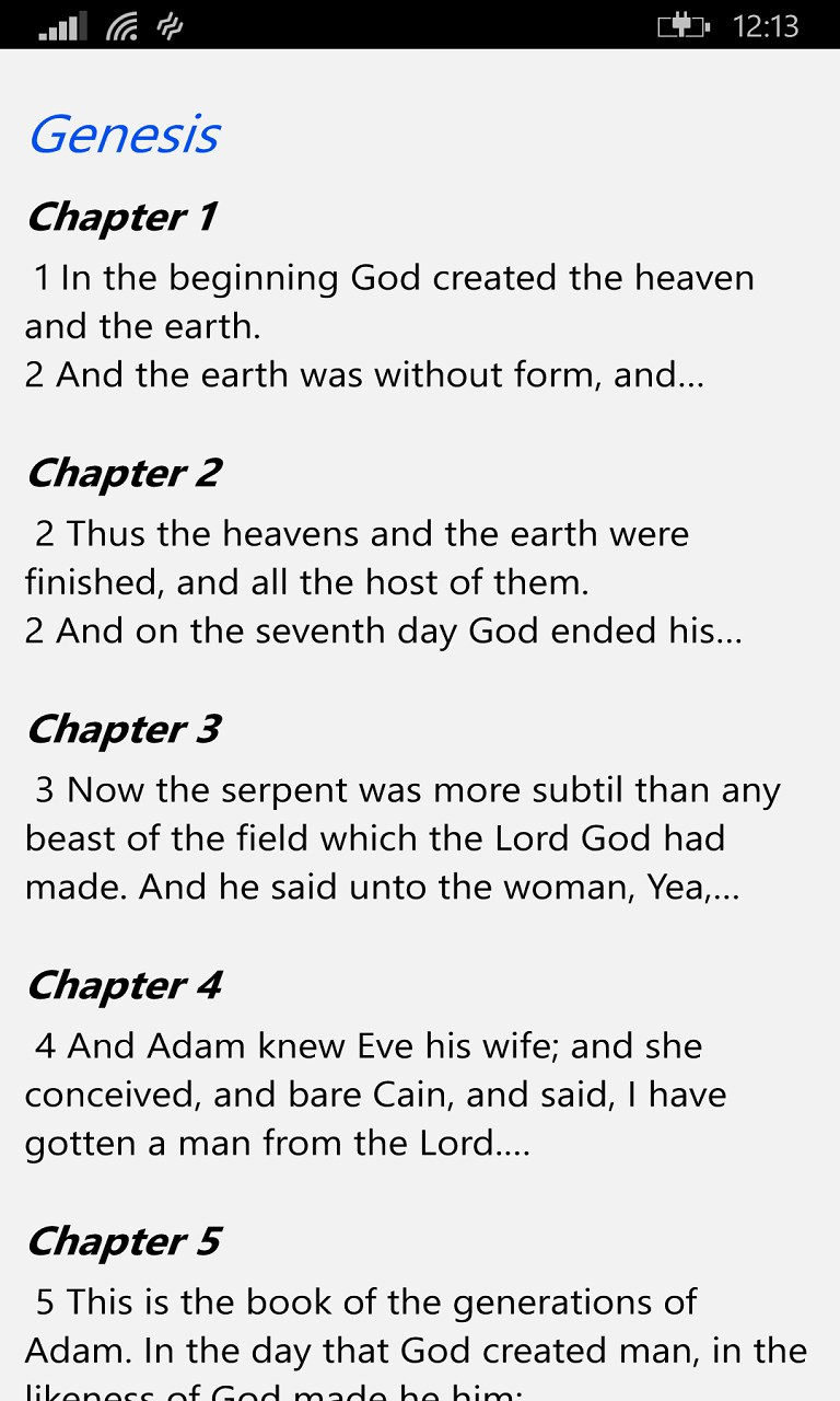 bible app how to change to deault font