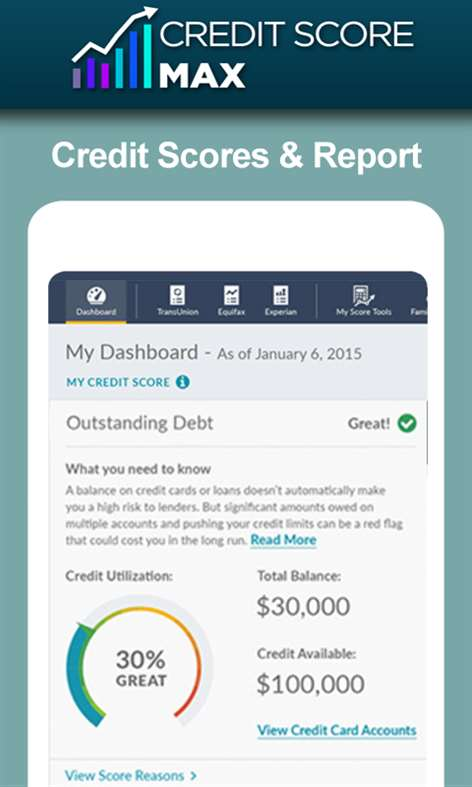 Free Credit Score App Screenshots 2