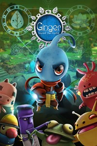 Carátula del juego Ginger: Beyond the crystal para Xbox One