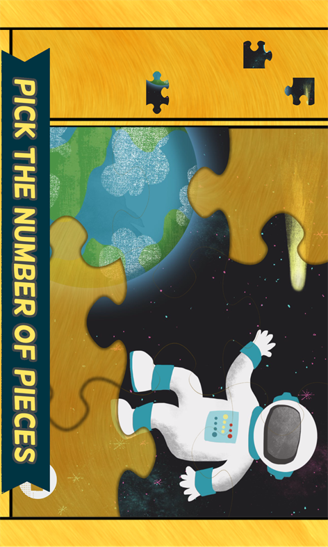Science Games for Kids: Space Puzzles Screenshots 2
