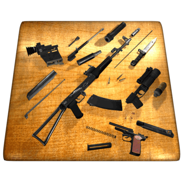 Get Weapon Field Strip 3D - Microsoft Store