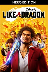 Carátula del juego Yakuza: Like a Dragon Hero Edition